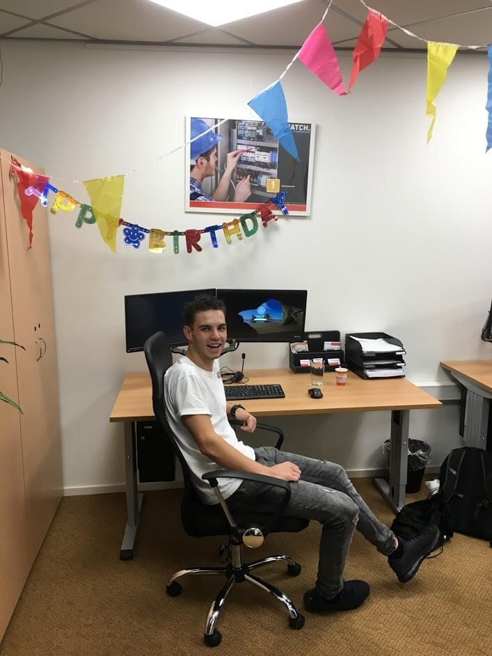 Gefeliciteerd Ivan!